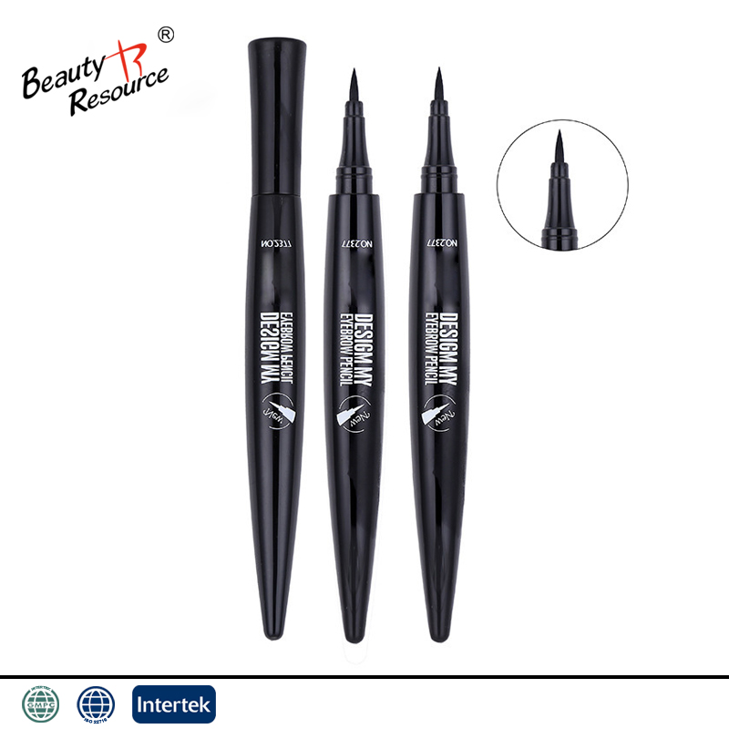black smooth waterproof longlasting smudgeproof eye contour makeup eyeliner pencil private label