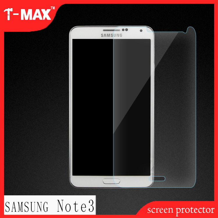 Best 2.5D mobile phone accessories products tempered glass screen protector For Samsung Note3 for wholesale
