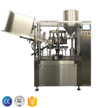 MIC-L60 Automatic aluminum tube filling and sealing machine with tube crimping for ointment