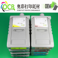 China supplier high quality PFI 701 compatible ink cartridge with dye ink for Canon IPF8000/9000/8000s/8010s