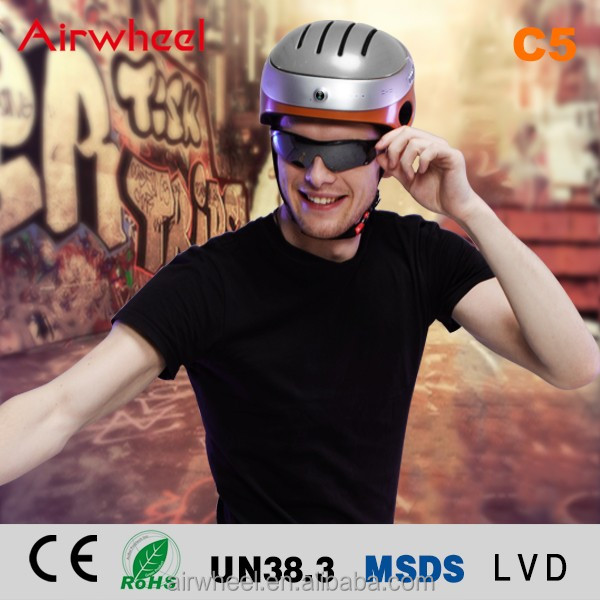 Airwheel C5 safety helmet with CE