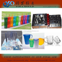 plastic juice cup mould, wine container cup moulds, drinkingcup mould