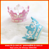 Birthday Decoration Small Crown Shaped Candle Supplier