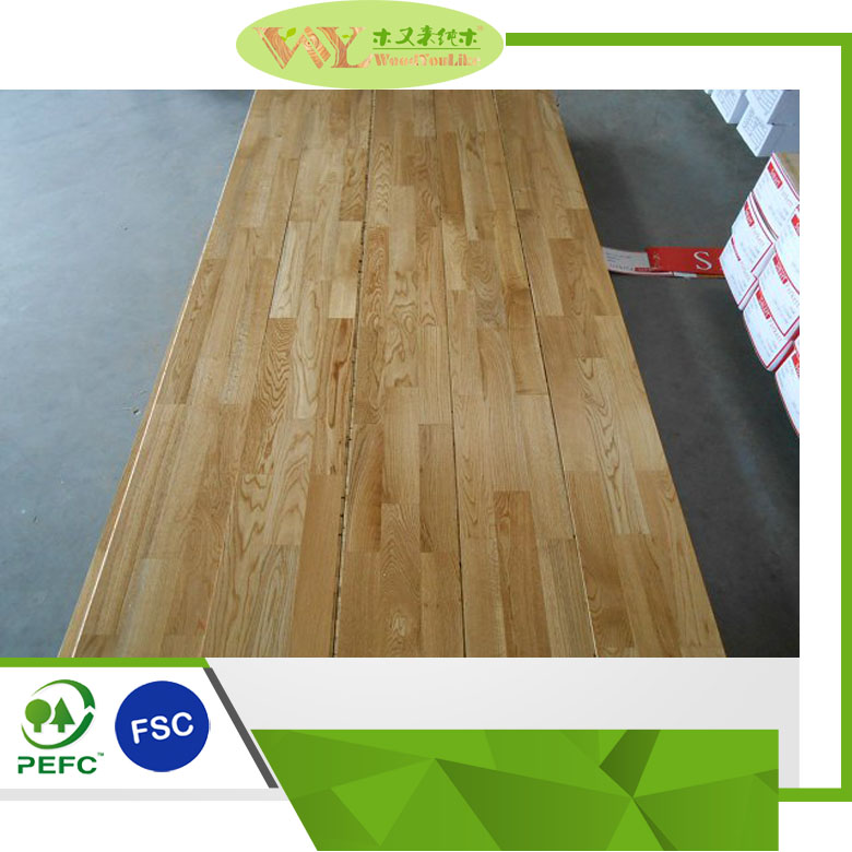 Best Hardwood Flooring 3-Strip 3 Layer Prime Grade Oak Engineered Solid Wood Flooring Smooth