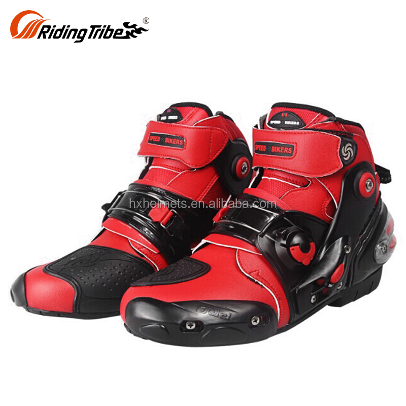 street bike stylish womens summer superbike tall biker leather motorcycle racing riding boots for sale