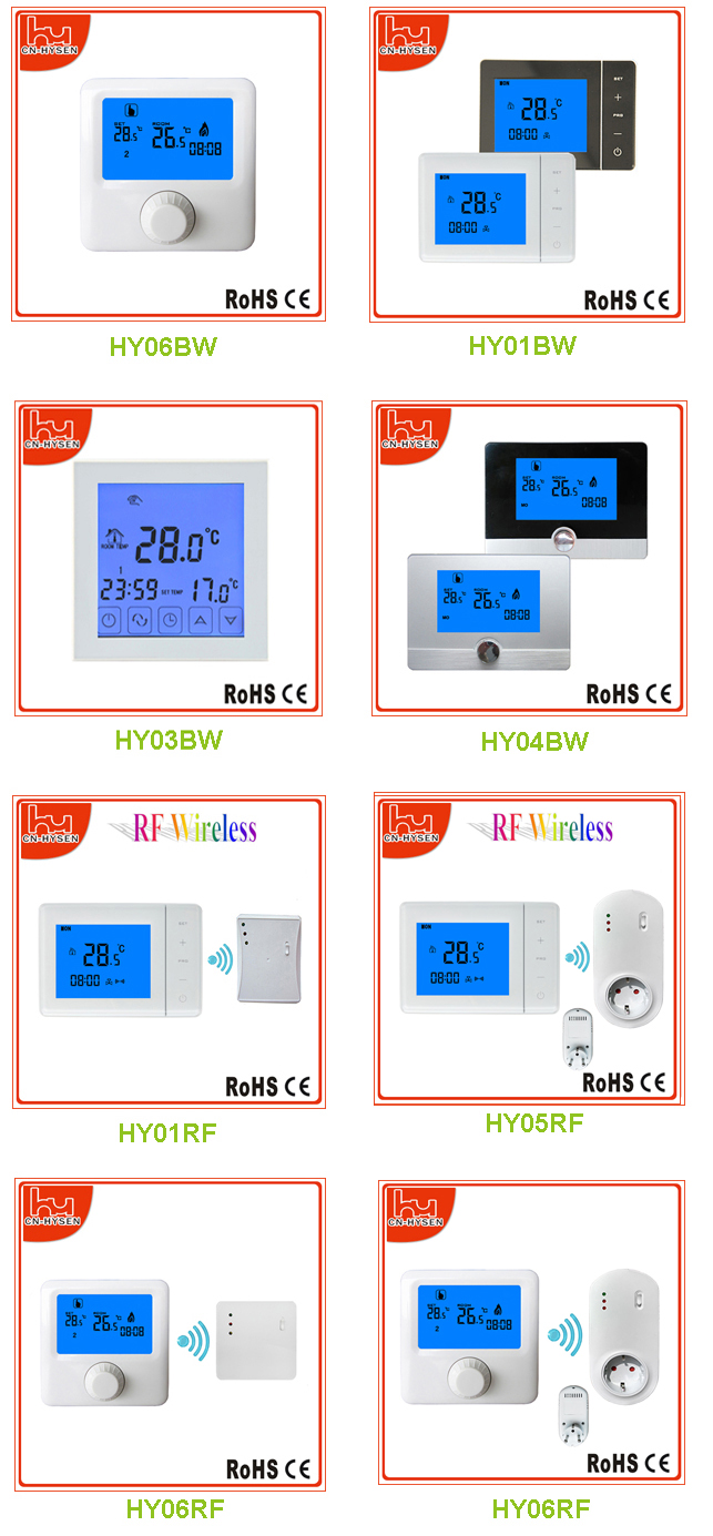 Wireless receiver and digital programmable thermostat