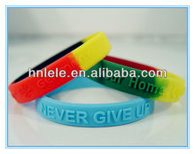 Factory Custom Rubber Silicone Wrist bands, Custom Bulk Cheap Silicone Wristband