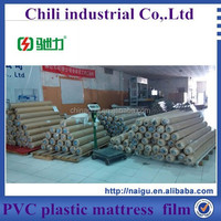 top quality plastic film pvc rolls for mattress