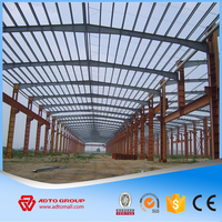 ADTO GROUP Metal Building Construction Projects Industrial Factory Shed Designs Prefabricated Light Steel Structure