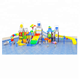 2018 summer funny water games children plastic water slide for sale
