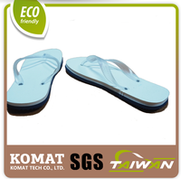 Patented Design Dual Layer TPE Foam as flip flop sandal sole material