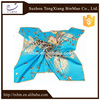 2015 fashion style beautiful lady 100% silk scarf