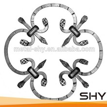 Cast iron wrought iron fence panel baluster design / picket design