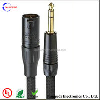 6.35mm Jack TRS(male) to Balanced XLR(Female) OFC Audio Cable
