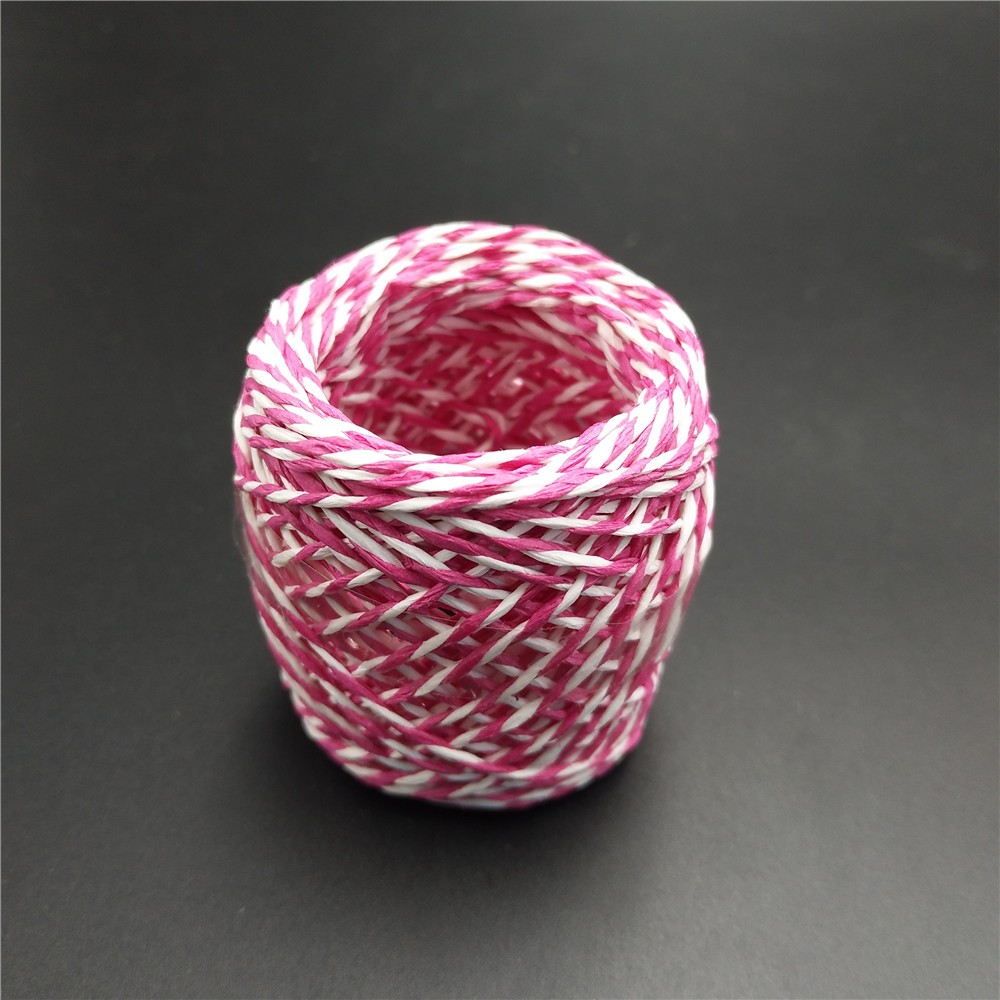 All factory wedding gift wrapping colored raffia ribbon string