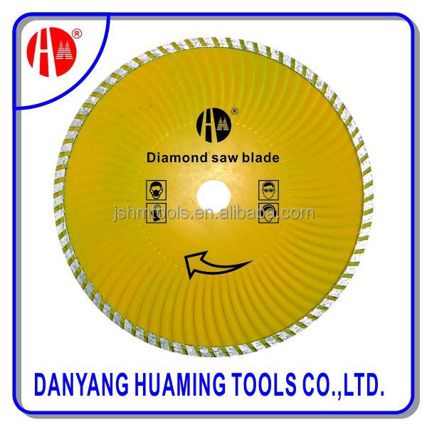 8 inch thin turbo diamond saw blades for dry cutting