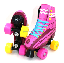 PU wheel flashing roller skating shoes