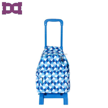 Big wheels kids school trolley bags for girl