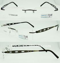 hot sale cheap rimless reading glasses new design optics glasses