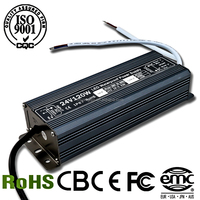 High Quality 120W 24V 5A output waterproof led switch power supply with Aluminium shell