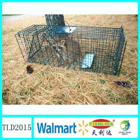 Galvanized wire mesh animal traps for rabbit,High quolity China supplies TLD2015