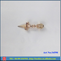 Metal Golden Shoe Clip Hardware