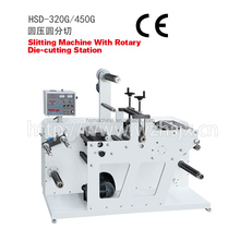 HSD-320G Rotary die- cutting Machine With slitting