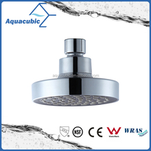 4'' single function youtube hot abs chromed head shower,shower head