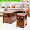 Large Dog Crate Wooden Furniture End Table