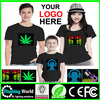 Hot selling High quality Light up dance t-shirt
