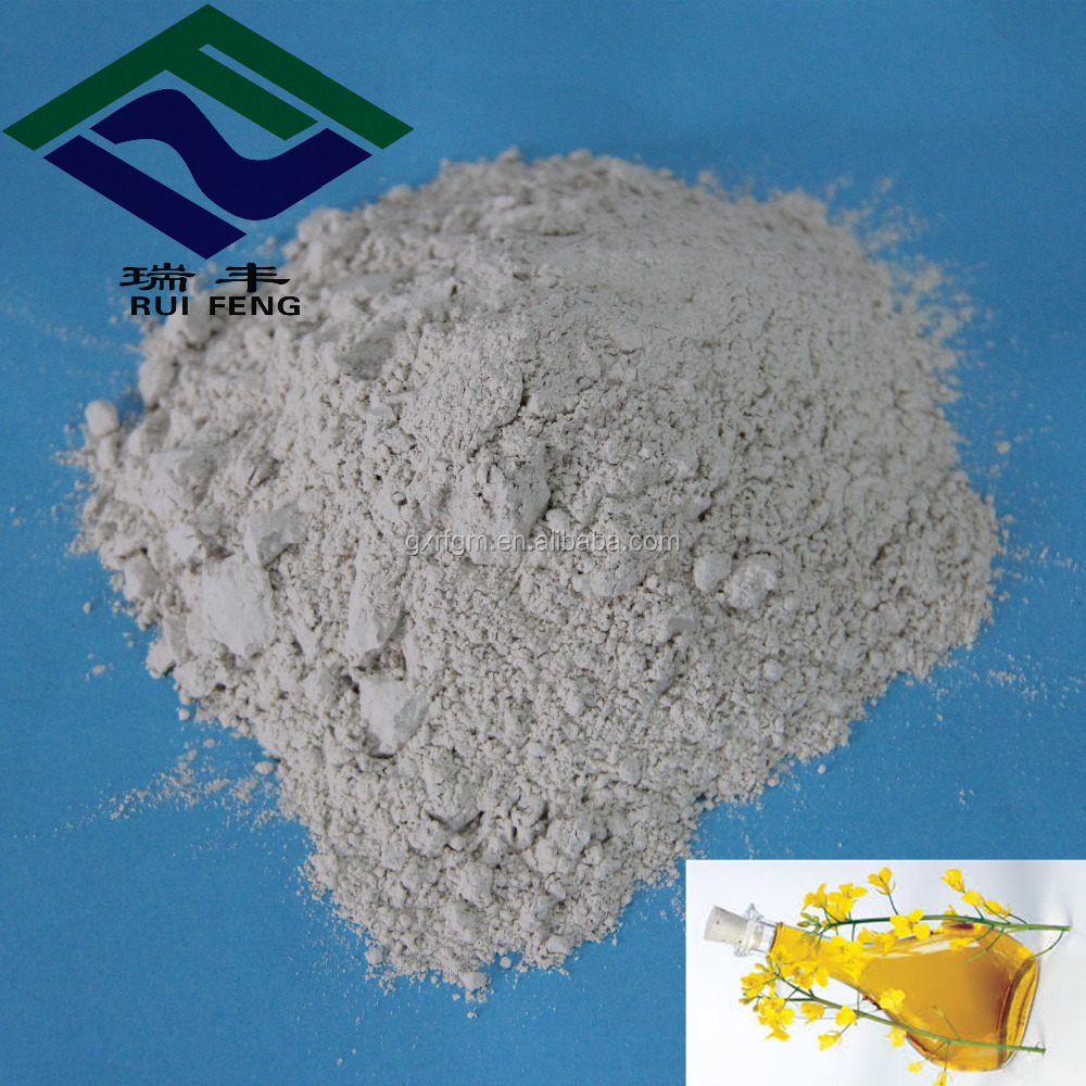 oil bleaching chemicals water absorbing powders activated bleaching earth for Rapeseed oil refining