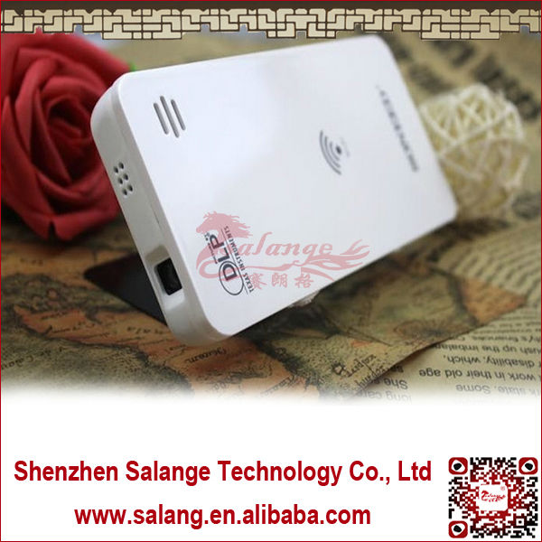2014 factory price mini wifi wholesale for samsung galaxy s4 pocket projector by salange