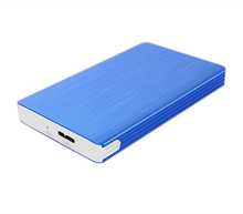 "Aluminum 2TB 2.5"" SATA SSD HDD Hard Disk Drive to USB 3.0 Converter Adapter Card External Enclosure Case Caddy"