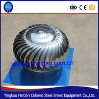 Steel Turbine Roof Top Ventilators Fan/Roof Mounted Industrial Turbine Exhaust Fan