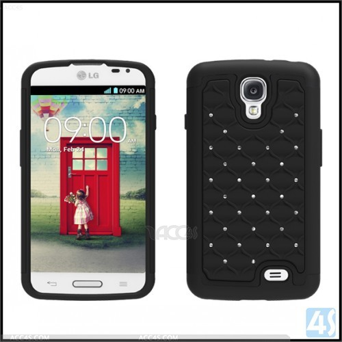 Bling Diamonds Hard Case Cover For LG F70