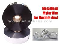 Metallized Mylar film for packing for insulation material Hangzhou factory Metallized Mylar film