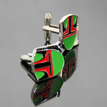 Manufacturer Price Wholesale Cufflink Custom Traditional Chinese Opera Business Gift Mask Bulk Engraved Enamel Cuff Links