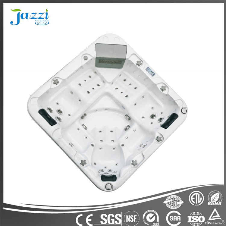 JAZZI Modern Design Luxury Fashion and High Quality Small Whirlpool Massage Drop-in Hot Tub SKT329A
