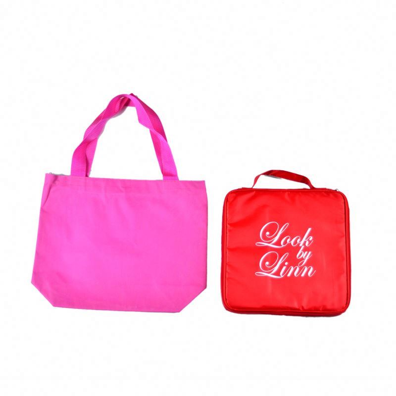Top quality New recycle 2014 new eco polyester folding shopping bag