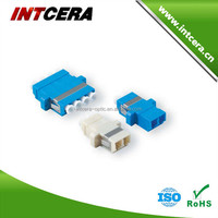 Singlemode and Multimode LC fiber optic adapter with SC type