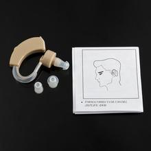 TV Cyber Sonic Tone Hearing Aids Aid Behind The Ear Sound Amplifier Sound Adjustable Kit