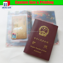 New brand faux Leather smooth Visa passport holder with great price