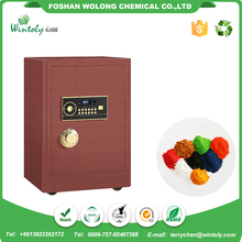 China wholesale decorative spray polyester resin leather effect powder coating