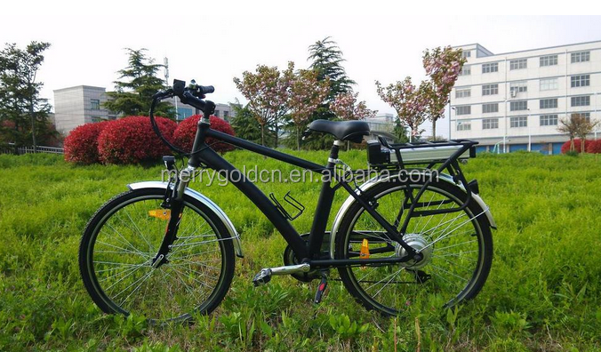 CE 26 inch pedal assisted electric bicycle/chopper bike with battery price for man