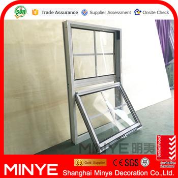 Aluminum vertical sliding window design american style for Vertical sliding window design
