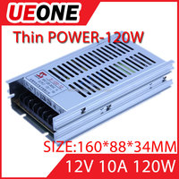 CCTV power supply 120w constant voltage single output 12v ac dc switching power supply