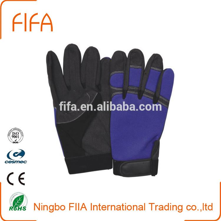 Impact Resistant Safety Work Anti Slip Mechanical Glove