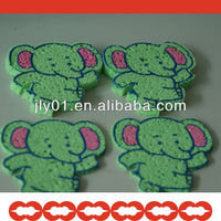 compressed facial sponge printed logo or picture