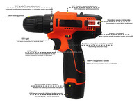 electric hand drill machine parts of hand drill hand drill