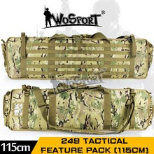 2017 true adventure outdoor military tactical gun bag with camouflage color
